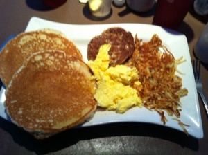 When driving through the Everglades, I recommend a 3,000 calorie breakfast so as to avoid fainting.  Okeechobee, FL.  October 2011.