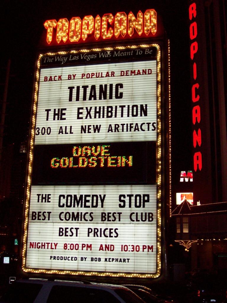 Vegas: my name in lights
